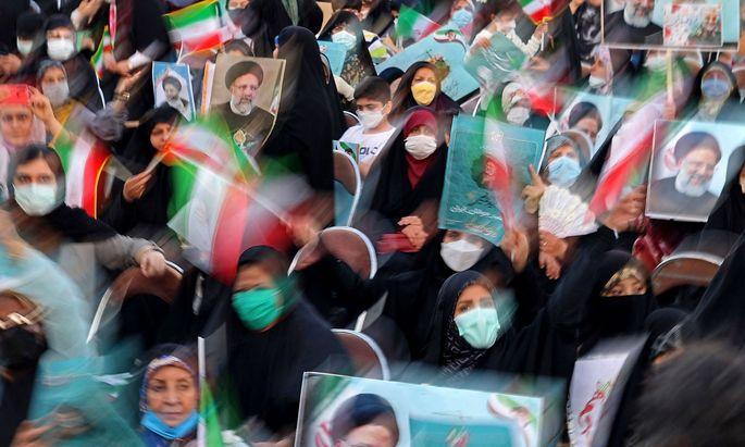 Hardliner Raisi gewinnt Präsidentschaftswahl im Iran mit 62 Prozent