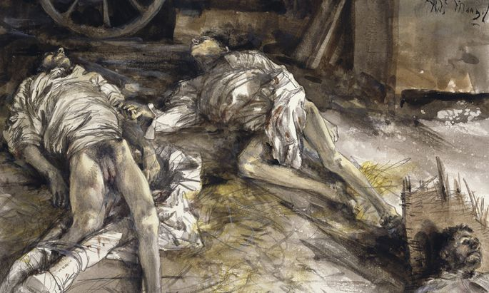 Die toten Soldaten von Königgrätz