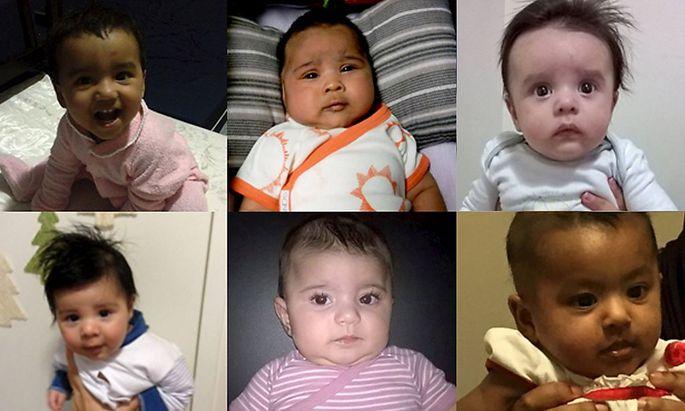 Die betroffenen in Australien geborenen Kinder.