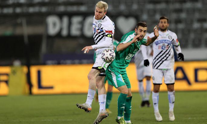 Der 1:0-Heimsieg gegen WSG Tirol bedeutete für Sturm Graz den dritten Sieg innerhalb von acht Tagen.