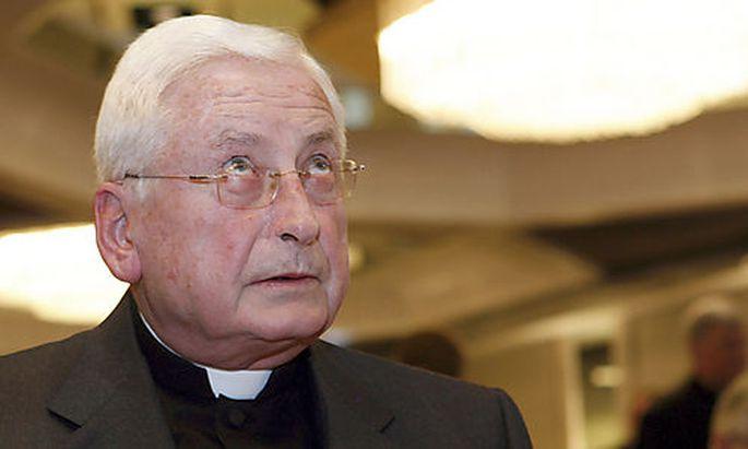 Altbischof Walter Mixa