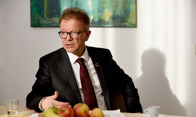 Hat sich selbst noch nicht testen lassen: Gesundheitsminister Rudolf Anschober.