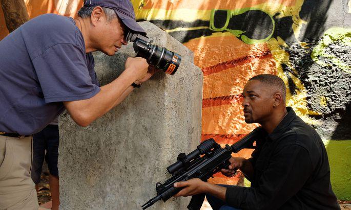Sein Genre heißt Humanismus: Regisseur Ang Lee mit seinem Hauptdarsteller Will Smith.
