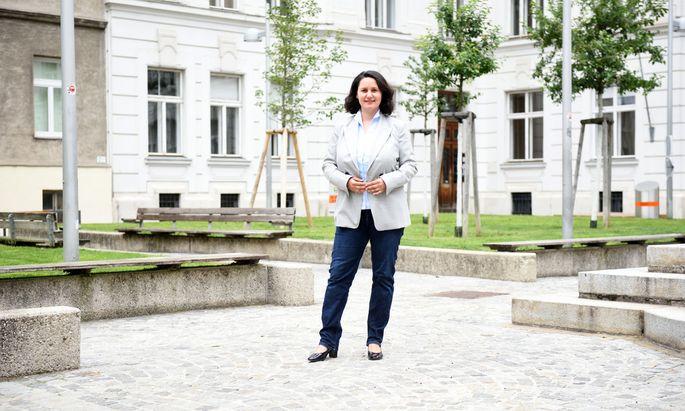 ÖVP-Bezirksvorsteherin Veronika Mickel steht der Josefstadt seit 2010 vor.