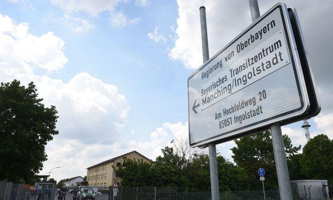 Archivbild: Bayrisches Transitzentrum