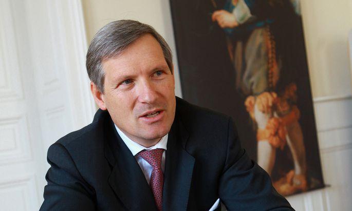 """LGT-Österreich-Co-Chef Meinhard Platzer: """"Cash ist jetzt King."""""""