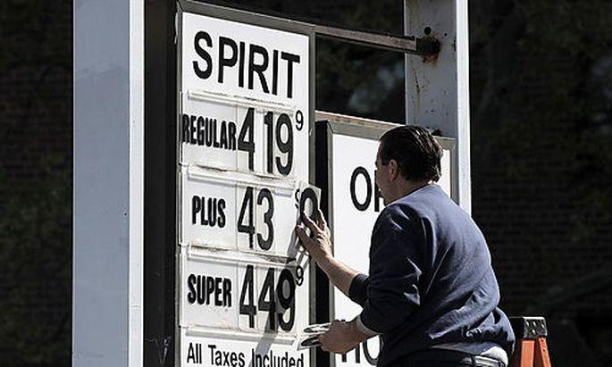 In den USA steigen die Benzinpreise