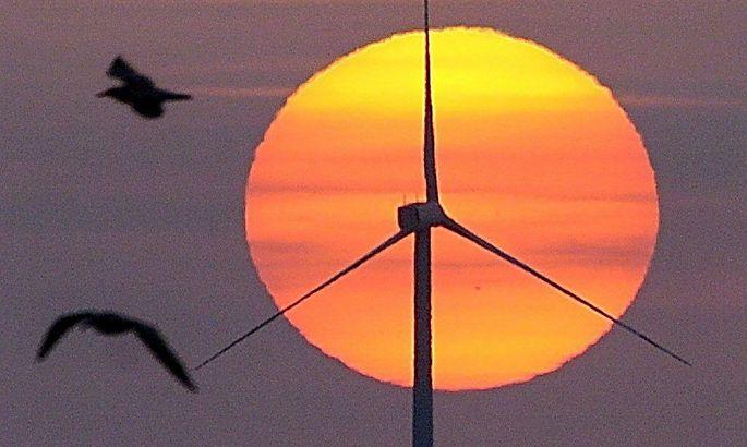 Arcghivbild: Der Bilbao-Windpark im Baskenland