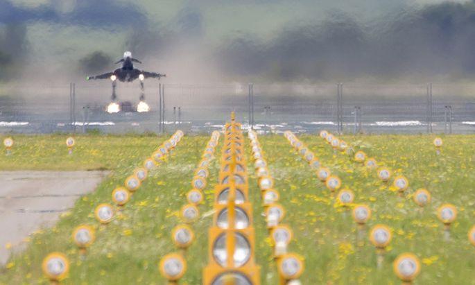 Die Eurofighter werden vielleicht bald nicht mehr durchstarten.