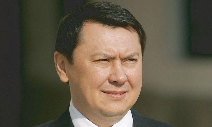 ARCHIVBILD: EHEMLAIGER KASACHISCHER BOTSCHAFTER RAKHAT ALIYEV