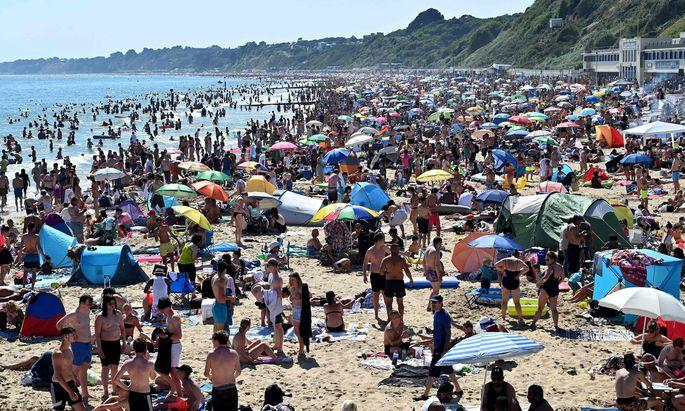 Strandbesuch trotz Coronakrise