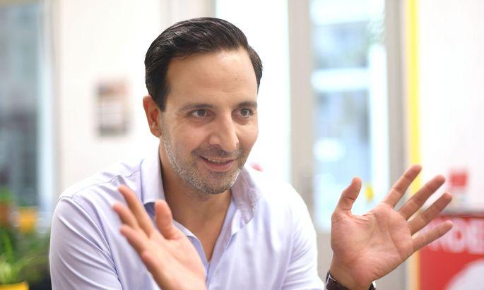 Wandel-Parteichef Fayad Mulla