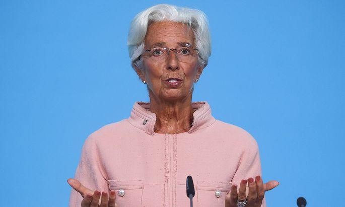 EZB-Chefin Christine Lagarde.