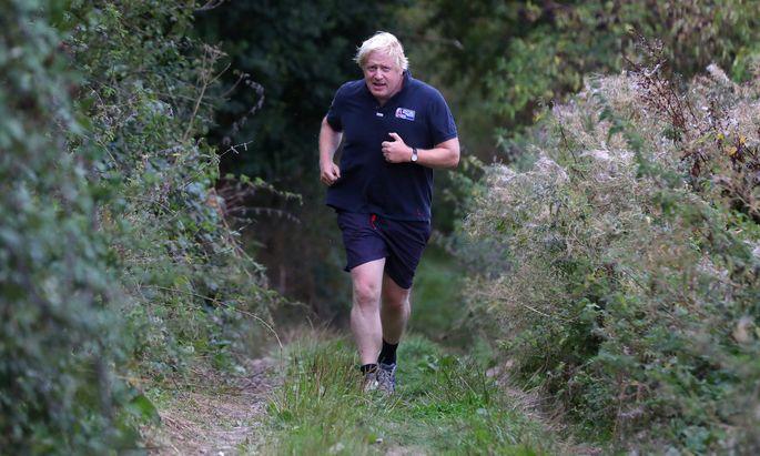 Auf dem Weg in die Downing Street 10: Ex-Außenminister Boris Johnson gilt als aussichtsreichster Kandidat für die Posten des Tory-Chefs und Premierministers.