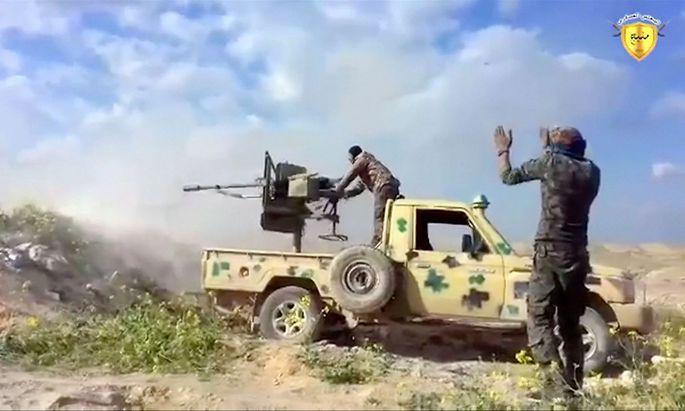 Kurdische Einheiten nähern sich der letzten IS-Bastion der Region in Nordsyrien.