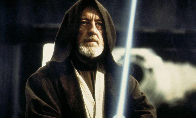 In den Episoden IV bis VI wurde Obi-Wan Kenobi von Sir Alec Guinness verkörpert
