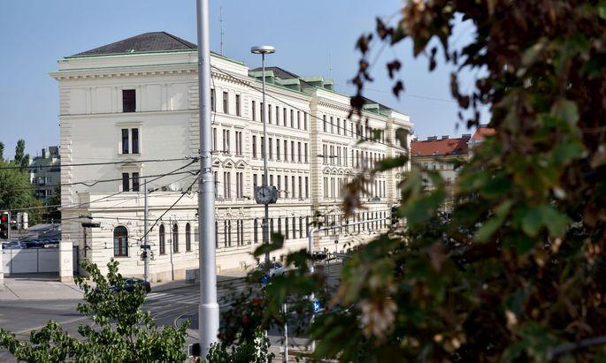 Das BVT Gebäude.