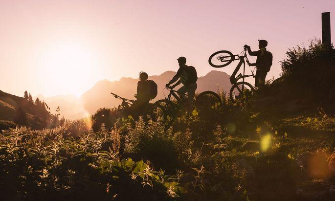 Biken in Fieberbrunn