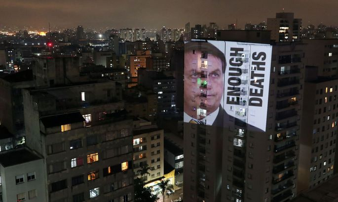 Brasiliens Präsident Jair Bolsonaro steht für seine Corona-Politik in der Kritik.