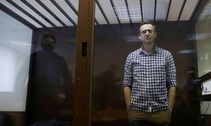 Alexej Nawalny ist derzeit im Hungerstreik - und das, obwohl sich sein Gesundheitszustand zunehmend verschlechtert (Archivbild)t