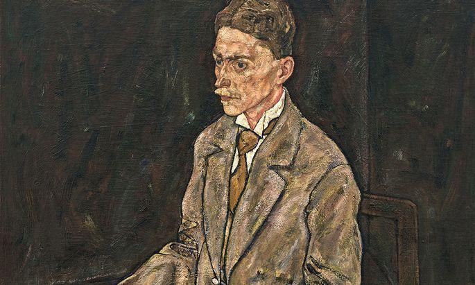 """Franz Martin Haberditzl war der Belvedere-Direktor, der 1918 das erste Schiele-Gemälde für Österreich ankaufte, die """"Edith"""". Ein Jahr zuvor hatte Schiele dieses Porträt seines """"Seelenfreundes"""" gemalt. Haberditzl verging in Gram und starb 1944."""