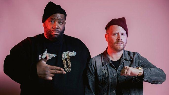 Hip-Hop-Meister: El-P und Killer Mike von Run The Jewels.