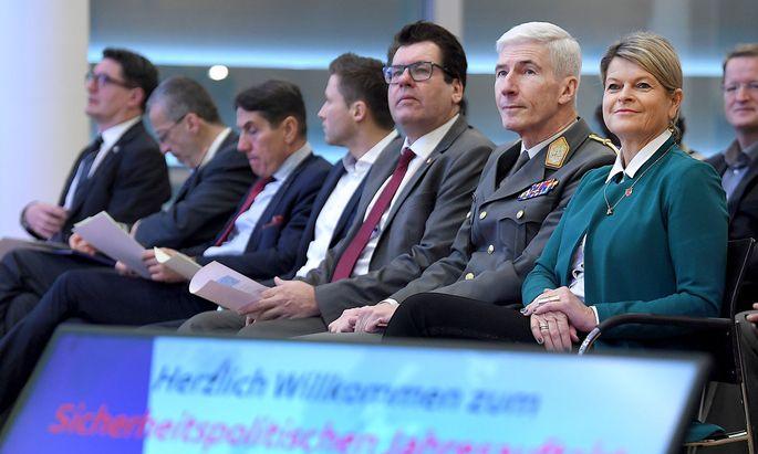 'SICHERHEITSPOLITISCHER JAHRESAUFTAKT 2020': TANNER / BRIEGER
