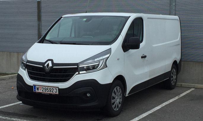 Spürbar mehr Komfort: Renault Trafic.