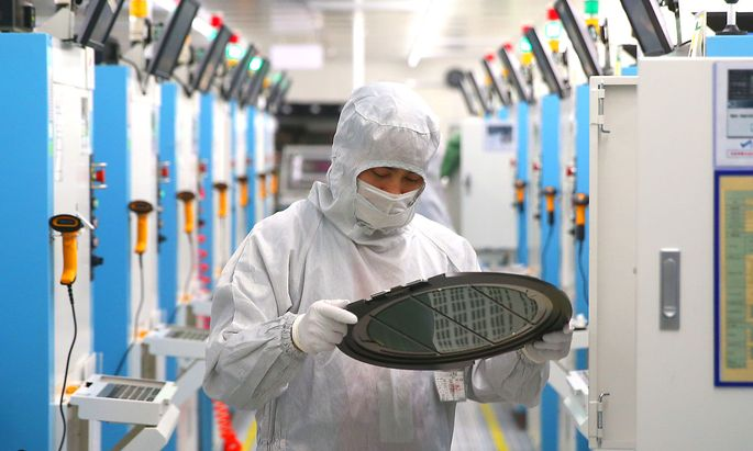 Semiconductor Manufacturing In Jiashan County