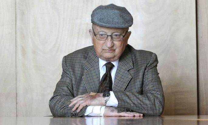 Walter Thirring im Jahr 2012.