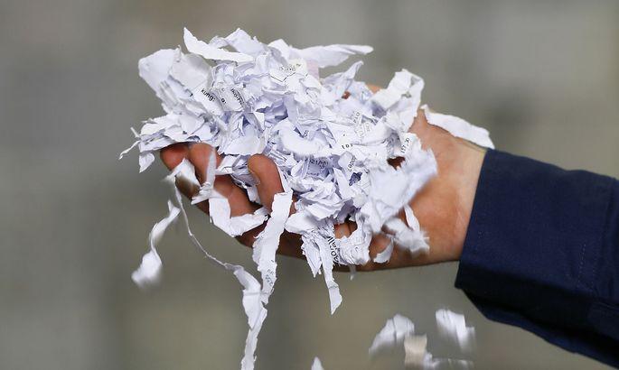 Reisswolf Papierschnipsel
