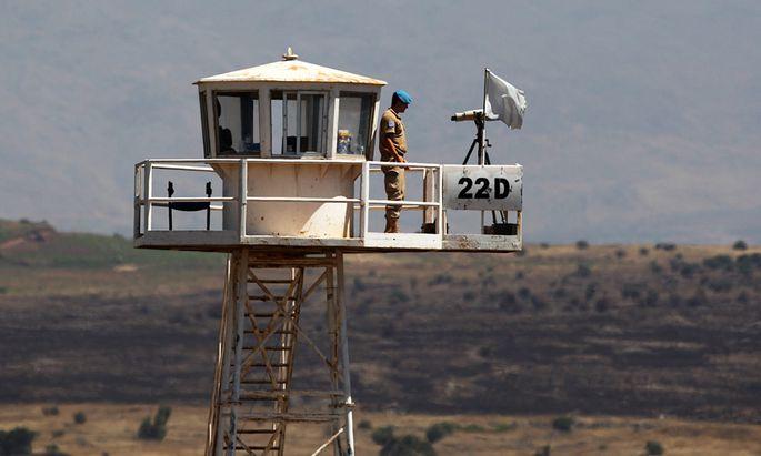 GolanMission verlaengert staerkt Mandat