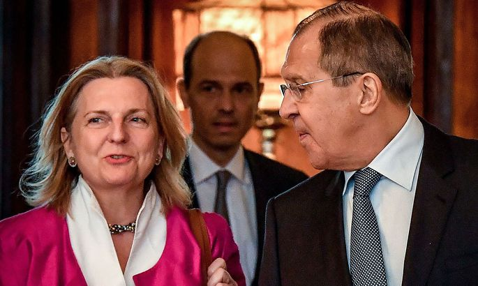 RUSSIA-AUSTRIA-POLITICS-DIPLOMACY