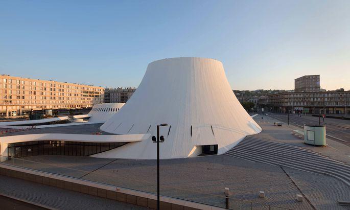 Baute nicht nur in Brasilia, sondern auch in Le Havre: Oscar Niemeyer schuf hier einen Vulkan aus Beton.