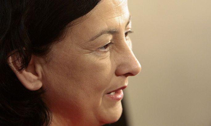 Ex-Justizministerin Maria Berger