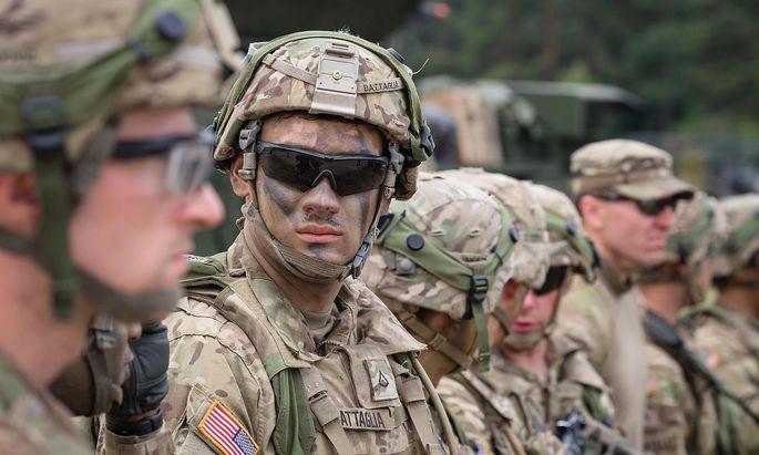 Archivbild von US-Soldaten bei einer Nato-Übung in Polen.