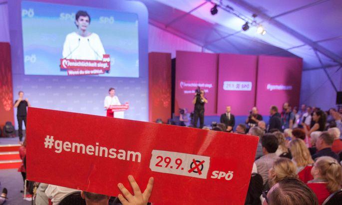 Nach dem desaströsen SPÖ-Wahlergebnis sei nun der dringende Wunsch entstanden, etwas zu tun.
