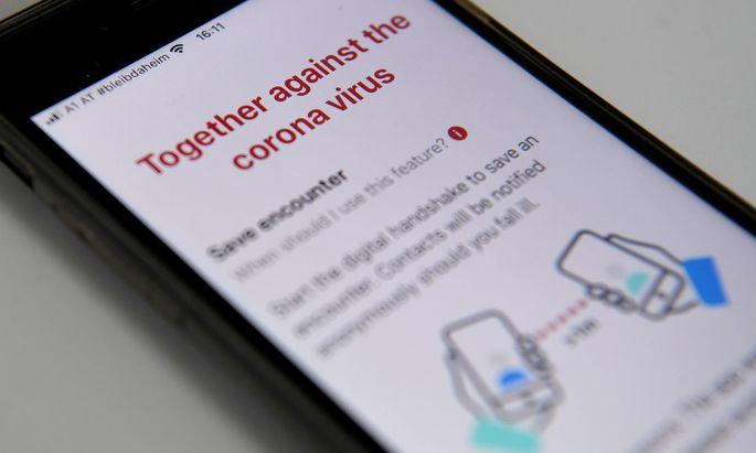 """""""Stopp Corona""""-App des Österreichischen Roten Kreuzes"""