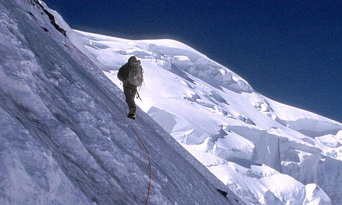 Symbolbild Bergsteigen