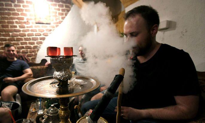 In Österreich gibt es zwischen 400 und 500 Shisha-Bars.