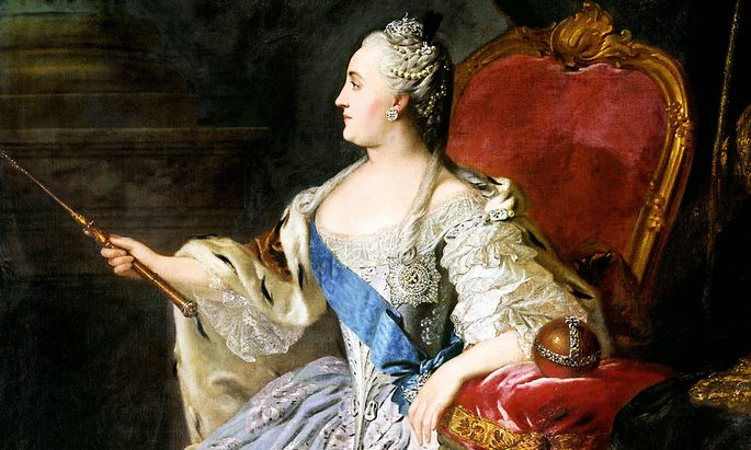 Catherine II of Russia (Russian: Yekaterina Alekseyevna, 2 May 1729 17 November 1796), was the most renowned and the lon
