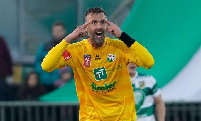 SC Austria Lustenau v WSG Swarovski Tirol - Uniqa OeFB Cup