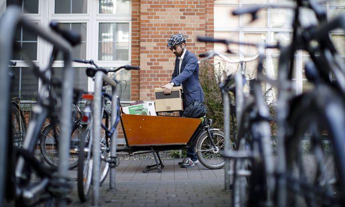 Wien reaktiviert die Förderung von Lastenrädern für Private. (Symbolbild)