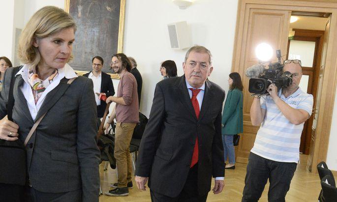 Vor zwei Jahren schon ist Heinz Schaden in erster Instanz schuldig gesprochen worden.