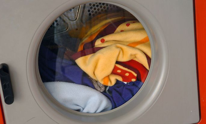 Die Waschmaschine ist fertig - die Konzentration ist dahin