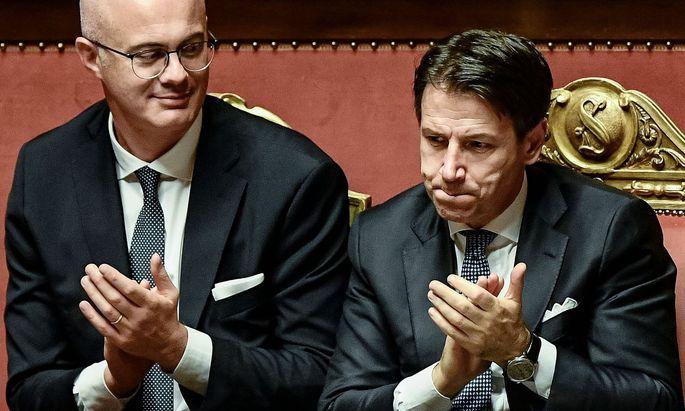 Senat hat der neuen Regierung von Ministerpräsident Giuseppe Conte das Vertrauen ausgesprochen