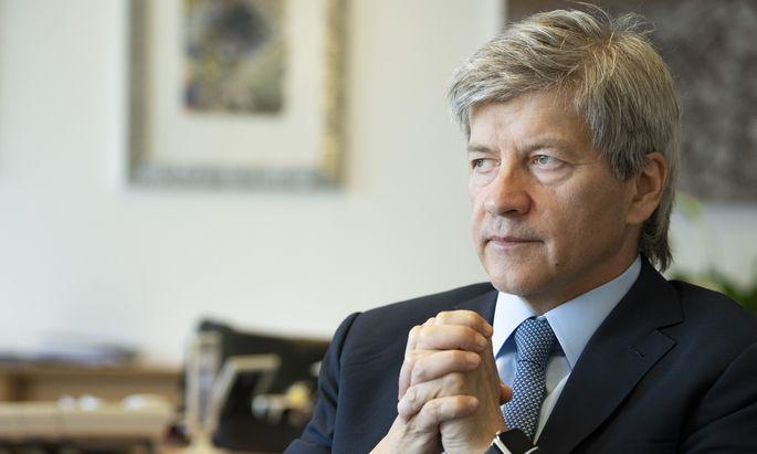 RBI-Chef Johann Strobl will wegen der Krise auf strikte Kostendisziplin achten.