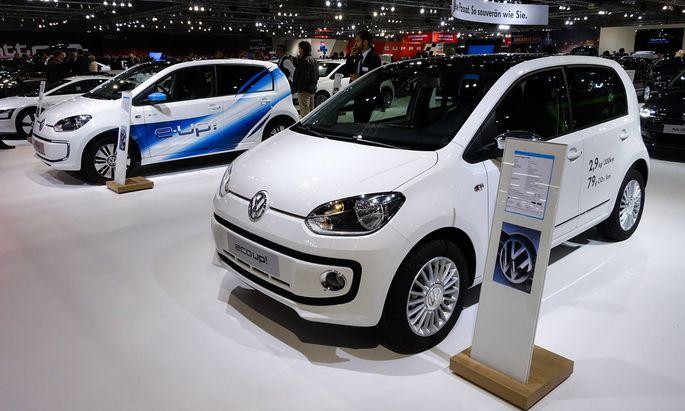 VW eco up Vienna Autoshow 2015 Messe Wien nur redaktionell editorial only nur redaktionell ed
