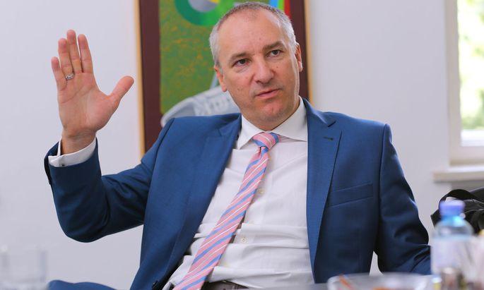 Sazka-Chef Robert Chvatal hofft auf ein Machtwort von Sebastian Kurz