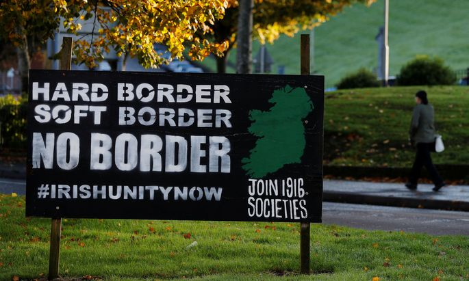 Im Norden Irlands halten sich Befürworter und Gegner der Wiedervereinigung die Waage.